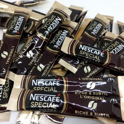Lot de 20 sticks de cafe soluble special filtre 2 g nescafe