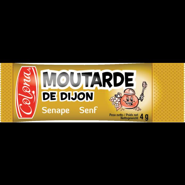 Lot de 20 sticks de moutarde en dosettes 4 g colona