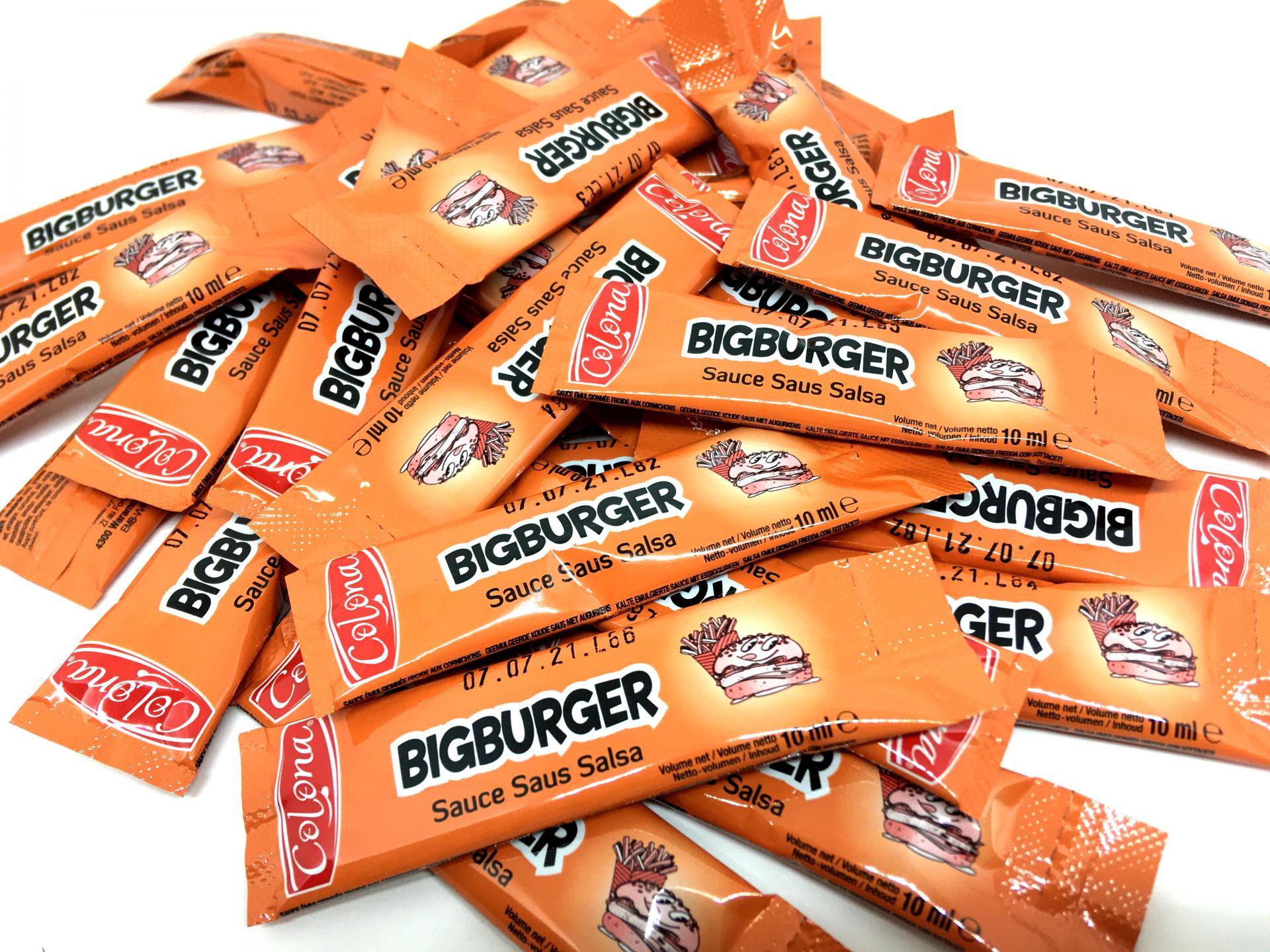 Lot de sticks de sauce bigburger en dosettes 10 g colona 2