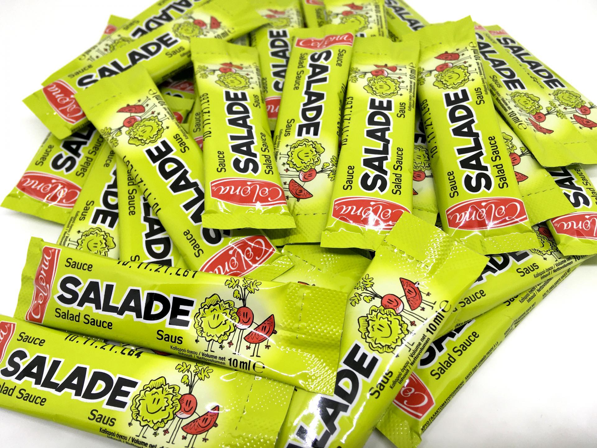 Lot de sticks de sauce salade en dosettes 10 g colona