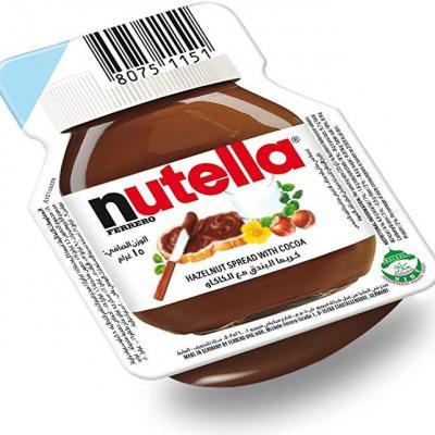 Lot nutella 15 g le lot de 10 barquettes individuelles