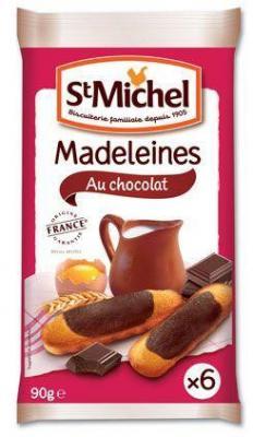 Madeleine au chocolat 6 x 90 g pour professionnels