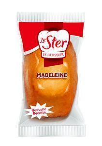 Madeleines 25g vendues a l unite