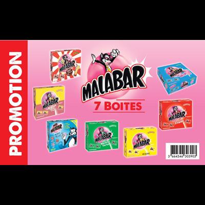 Malabar colis 7 boites de 200 unites