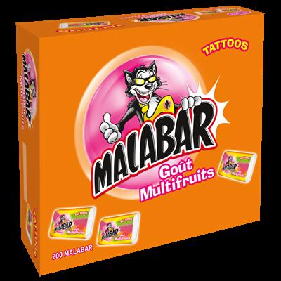 Malabar multi fruits boite 200 pieces
