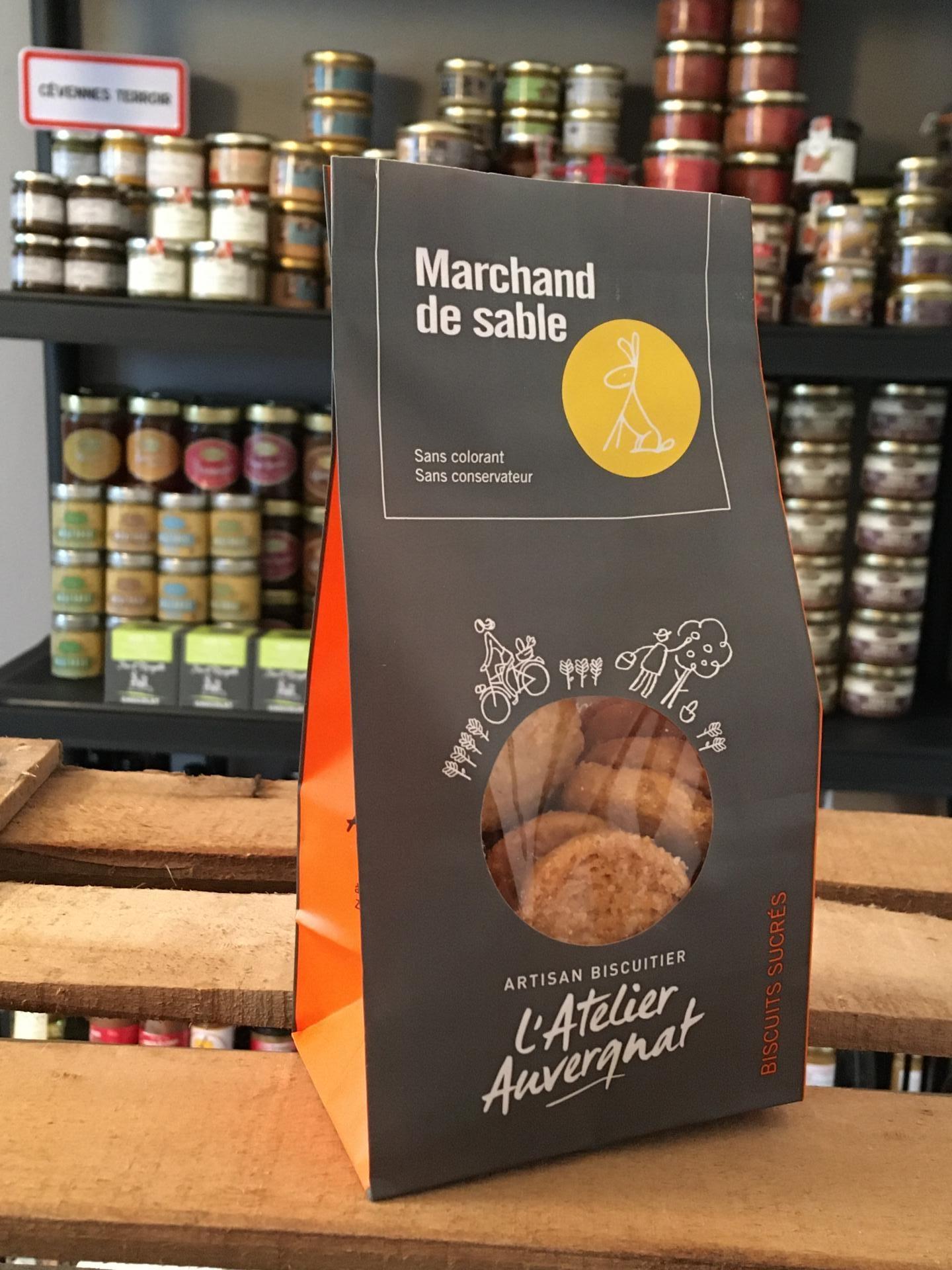 Marchand de sable sucres 140 g biscuiterie l atelier auvergnat 1