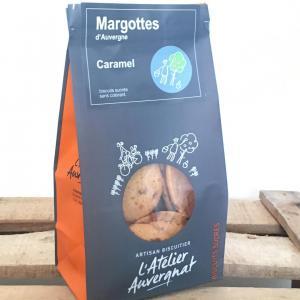 Margottes d auvergne caramel sucres 140 g biscuiterie l atelier auvergnat