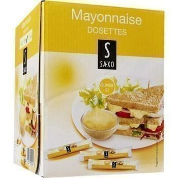 Mayonnaise 10 g saxo vendu a l unite