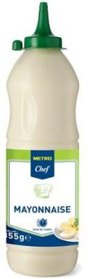 Mayonnaise 855 g metro chef pour professionnels