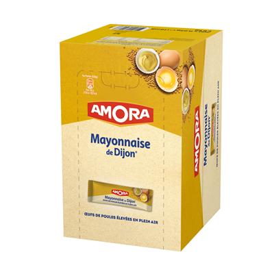 Mayonnaise de dijon dosettes 200 x 10 ml amora