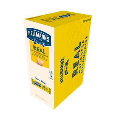 Mayonnaise dosettes 200 x 10 ml hellmann s