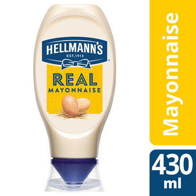 Mayonnaise flacon souple 430 ml hellmann s 1
