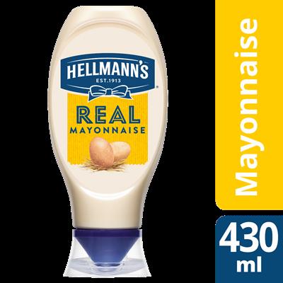 Mayonnaise flacon souple 430 ml hellmann s