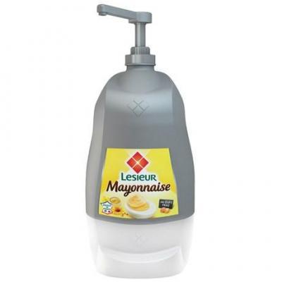 Mayonnaise moutarde pingouin 4 75 kg lesieur pour professionnels