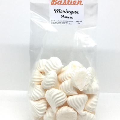 Meringues natures 50g les macarons de bastien