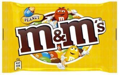 Metm s peanuts 36 x 45 g pour professionnels