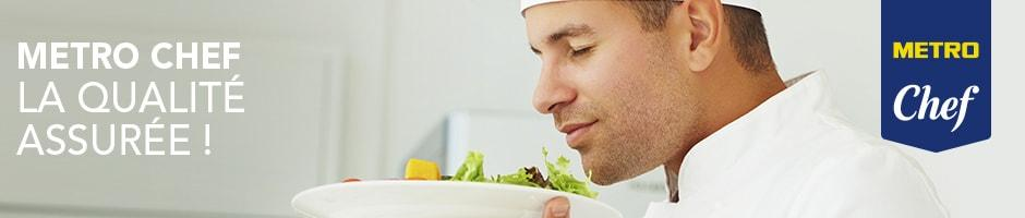 Metro chef marque exclusive cuisinier