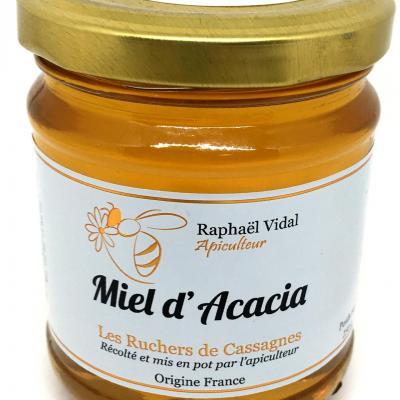 Miel d acacia des cevennes 250g les escargots et ruchers de cassagnes