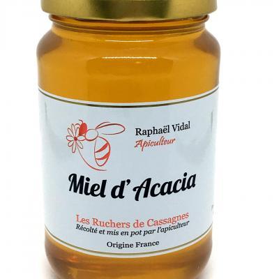 Miel d acacia des cevennes escargots et ruchers de cassagnes 500g