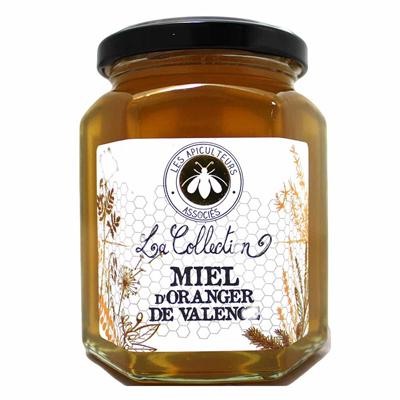 Miel d oranger de valence 375 g les apiculteurs associes