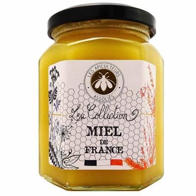 Miel de fleurs de france 375 g les apiculteurs associes