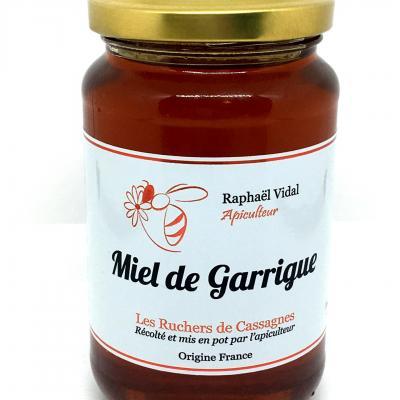 Miel de garrigue des cevennes miel polyfloral 500g