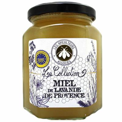 Miel de lavande de provence 375 g les apiculteurs associes