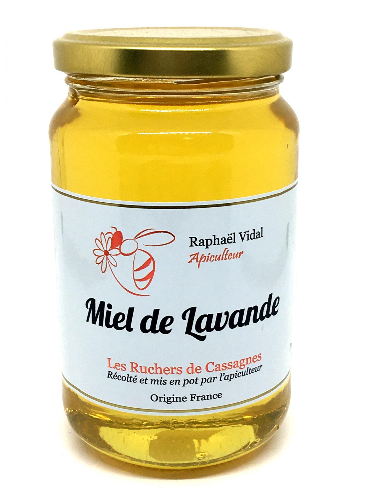 Miel de lavande des cevennes 500g