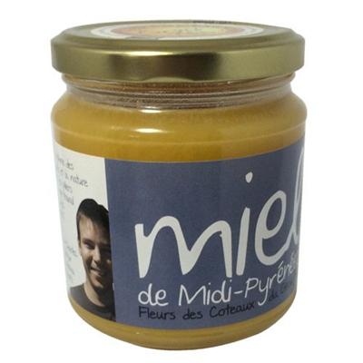 Miel de midi pyrenees 375 g les compagnons du miel 1