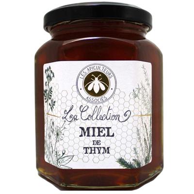 Miel de thym 375 g les apicultureurs associes