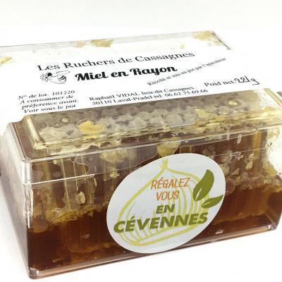Miel en rayon miel en breche ou gateau de miel 200g les escargots et ruchers de cassagnes 1