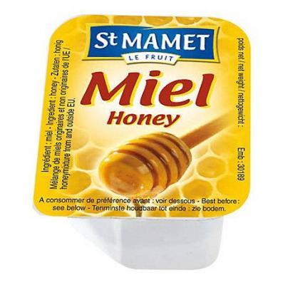 Miel liquide 180 x 20 g st mamet stick a l unite dosette individuelle miel