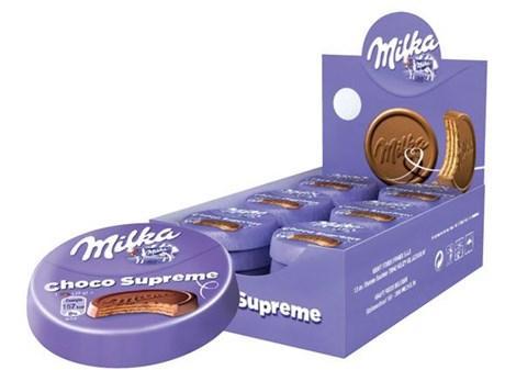Milka choco supreme 30 x 30 g pour bureau