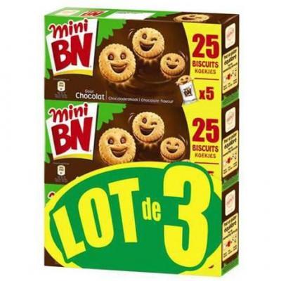 Mini bn chocolat 3 x 175 g pour professionnels