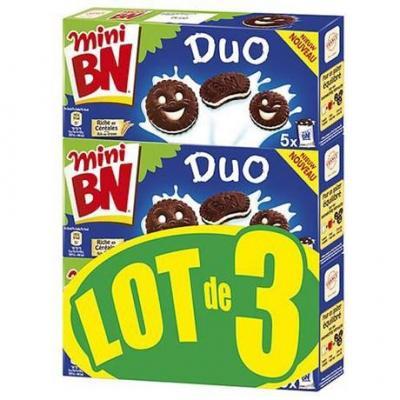 Mini bn duo 3 x 190 g pour professionnels