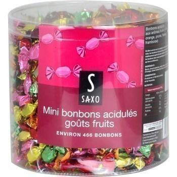 Mini bonbons acidules gouts fruits 1 4 kg