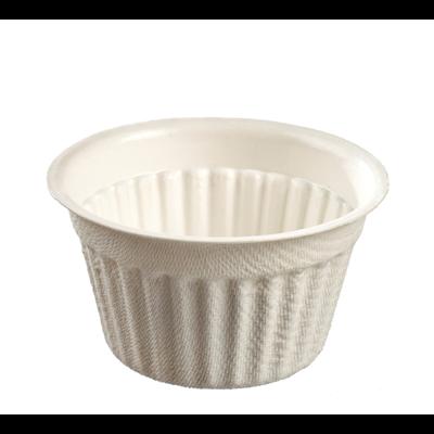 Mini fondant pulpe de canne blanc 6 7 x 3 7 cm 70 ml x 100 solia