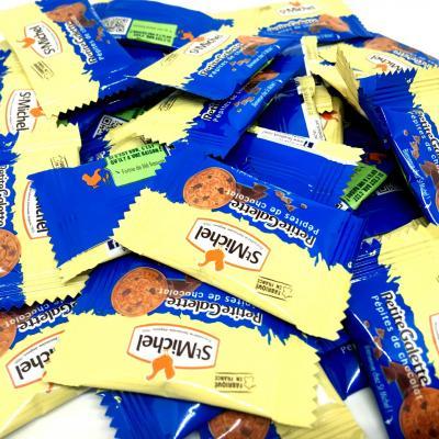 Mini galettes pepites de chocolat st michel le lot de 50