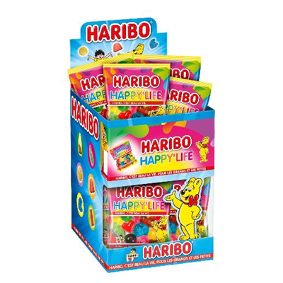 Mini happy life 30 x 40 g haribo