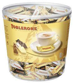 Mini toblerone chocolat au lait blanc et noir 113 pieces 904 g