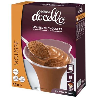 Mousse au chocolat 1 5 kg nestle docello
