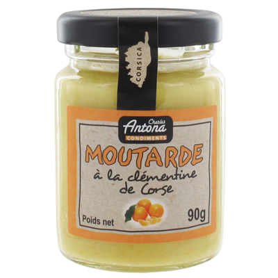Moutarde a la clementine 90 g charles antona 1