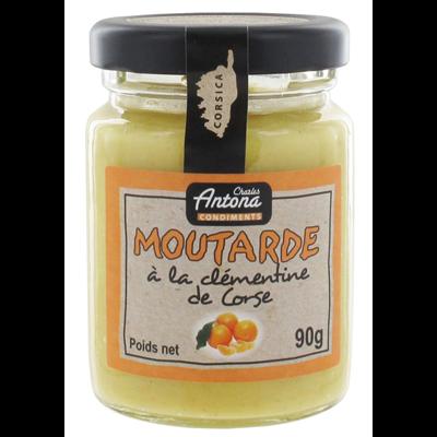 Moutarde a la clementine 90 g charles antona 1