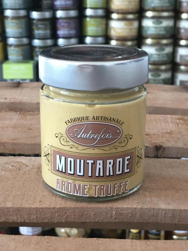 Moutarde aromatisee a la truffe 130g autrefois terroir milhaud gard 1
