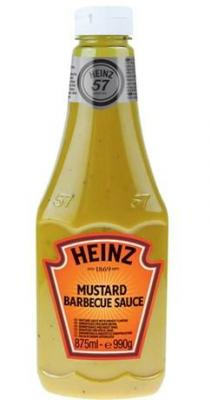 Moutarde barbecue sauce heinz 875 ml pour professionnels