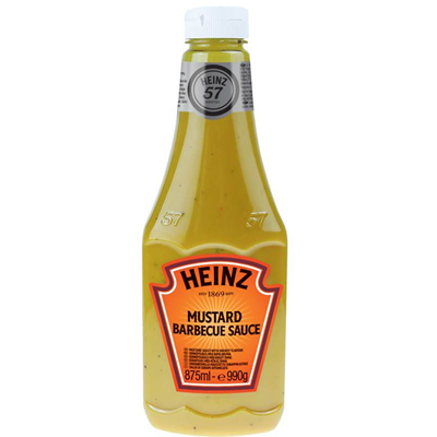 Moutarde barbecue sauce heinz 875 ml