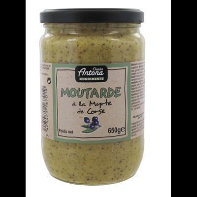 Moutarde corse a la myrte 650 g corsica gastronomia