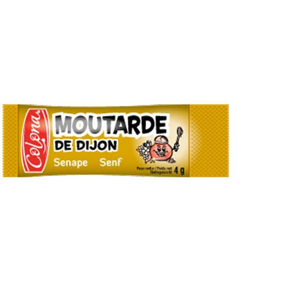 Moutarde de dijon 200 x 4 g colona