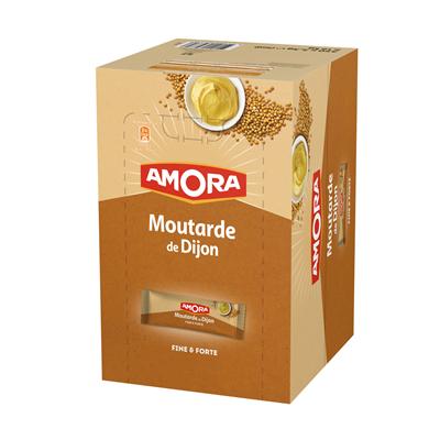 Moutarde de dijon dosettes 350 x 5 ml amora 2