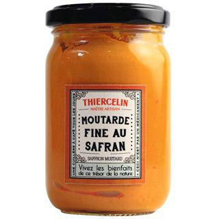 Moutarde fine au safran 200 g thiercelin